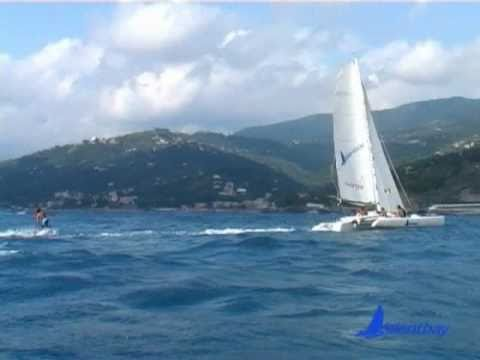 MUFFOLO 24 Italian CompositeTrimaran 2010 - SILENTBAY Charter experience