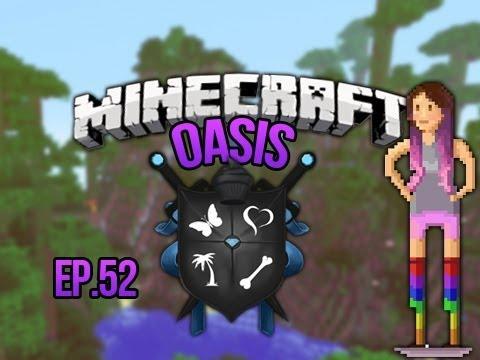 """""""DILOPHOSAURUS""""  Minecraft Oasis Ep 52 E3M13"""
