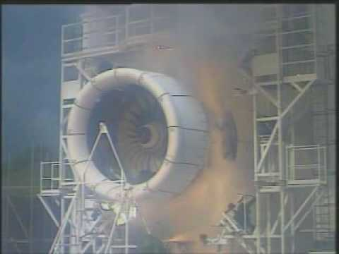 TRENT 900 DESTRUCTION TEST !