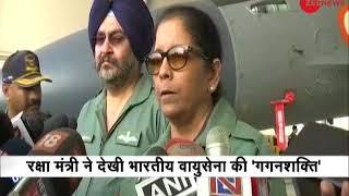 Air Force is getting prepared for war situations: Nirmala Sitharaman - ZEENEWS