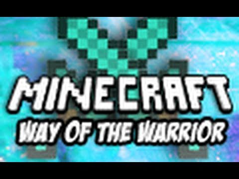 Minecraft The Way of the Warrior Part 1 Custom Map Adventure