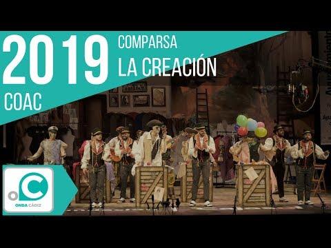 La agrupación La creación llega al COAC 2019 en la modalidad de Comparsas. Primera actuación de la agrupación para esta modalidad.
