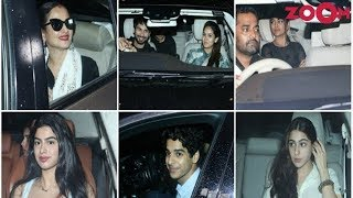 Bollywood Stars Attended A Special Screening Of 'Dhadak' & More - ZOOMDEKHO