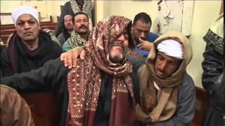 اتفرج.. أهالي المنيا يشيعون رمزيا جثامين ضحايا ليبيا