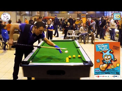BlackBall Trick Shots Show and Lesson - Billard Club Castanet Tolosan - Alchimie du Jeu