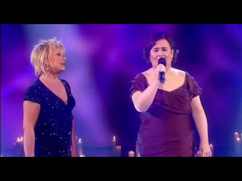 Susan Boyle performs Duet with Elaine Paige ( 13th / Dec / 09 )