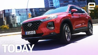 Hyundai will sell a car that can be unlocked with a fingerprint | Engadget Today - ENGADGET
