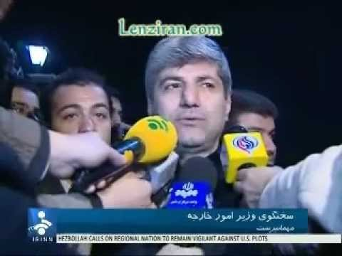 Expelled staffs of Iranian embassy in London welcomed by Mehmanparast & Hizbullah