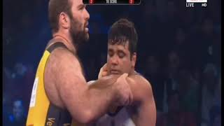PWL 3 Day 9: Satendrer Malik VS Levan Beriandze Pro Wrestling League at season 3 |Full Match - ITVNEWSINDIA