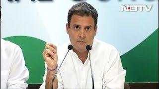 फ्रांस के पूर्व राष्ट्रपति के बयान पर पीएम दे जवाब: राहुल - NDTVINDIA