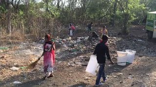 Pune: Locals join hands to clean up bird sanctuary - TIMESOFINDIACHANNEL