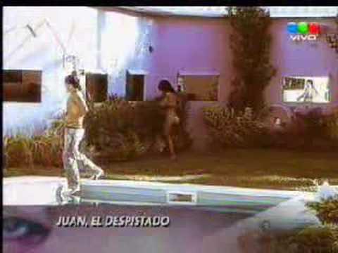 juan se cae, gran hermano 4 - argentina 2007