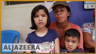 🇭🇳Thousands of Honduran migrants arrive in Guatemala City l Al - ALJAZEERAENGLISH