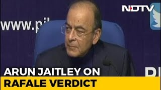 """Deaf Will Never Hear"": Arun Jaitley Rejects Congress Demand On Rafale - NDTV"