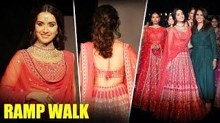 Shraddha Kapoor Ramp Walk For Anita Dongre at The Wedding Junction - HUNGAMA