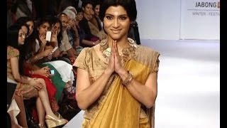 LFW: Konkona turns golden girl for Anavila - IANSINDIA