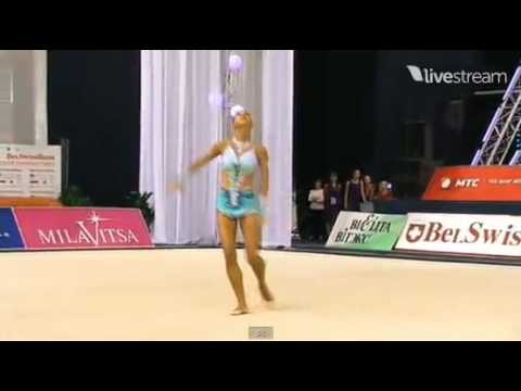 Daria Dmitrieva hoop AA World Cup Minsk 2012