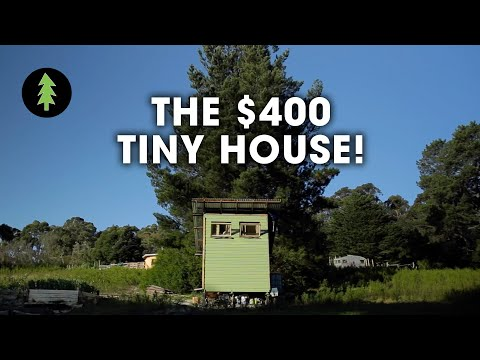 Couple Builds Tiny House for Only $420!