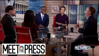 Full Panel: Trump's Emergency Triggers Questions Over Constitutional Crisis | Meet The Press - NBCNEWS