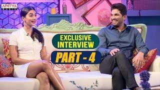 Exclusive Interview With Allu Arjun & Pooja Hegde | Part-04 | Aditya Music | DSP | Harish Shankar - ADITYAMUSIC