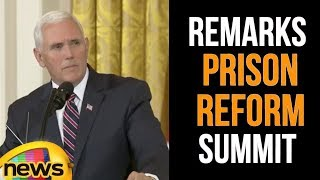 Vice President Pence Delivers Remarks At The Prison Reform Summit | Mango News - MANGONEWS