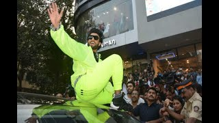 In Graphics: IN PICS: Ranveer singh latest pictures from adidas store launch - ABPNEWSTV