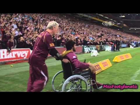 Johnathan Thurston - horrifying knee injury HD