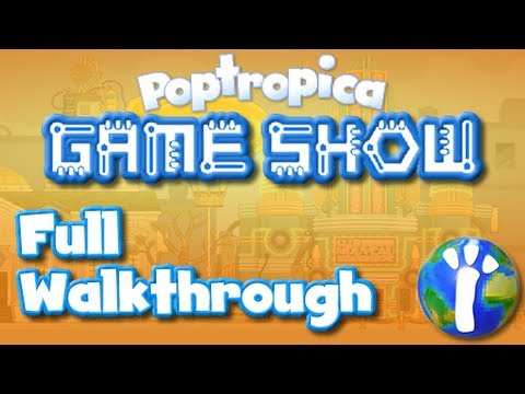 ★ Poptropica Game Show Island FULL Walkthrough ★