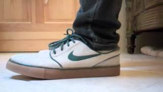52d58018b85e1 Nike SB Stefan Janoski Birch Noble Green 420 on Feet - YouTube