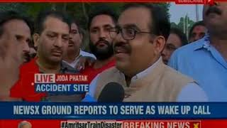Amritsar train accident: 59 killed and many others injured; Punjab CM orders majesterial enquiry - NEWSXLIVE