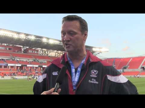USA vs. Australia - Ric Suggit's post-game comments at Houston Sevens