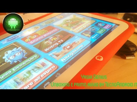 Yashi Genius: il tablet per bambini e non - Unboxing by TecnoAndroid.it