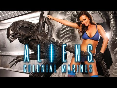 ALIENS COLONIAL MARINES | Gameplay | Exclusive Alien Tension Trailer [HD]