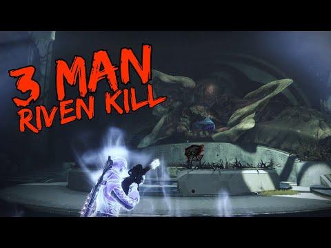 3 man Riven kill - Last Wish #MOTW