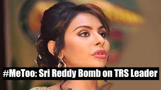MeToo movement: Tollywood actor Sri Reddy speaks to NewsX about accuses on TRS Mla Jeevan Reddy - NEWSXLIVE