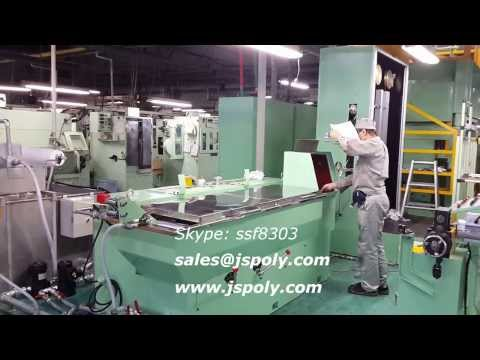 17 dies intremediate wire drawing machine & annealer + WF750 coiler machine ماكينة سحب السلك