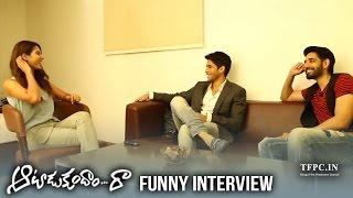 Sonam Bajwa Interviews Naga Chaitanya & Sushanth | Aatadukundam Raa Interview | TFPC - TFPC