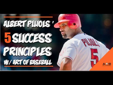 Albert Pujols Baseball Tips: 5 Baseball Success Principles.