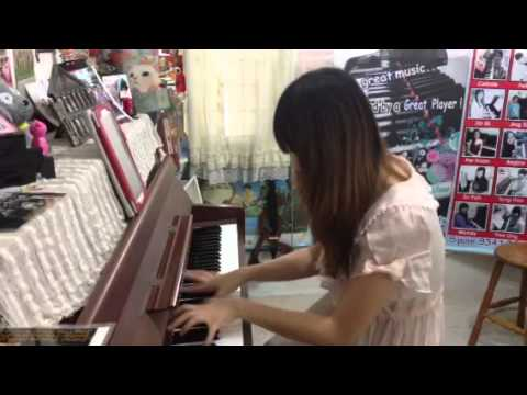 Asian dream song (piano version) cartoon art