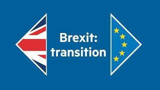 How a transition period after Brexit will work - FINANCIALTIMESVIDEOS