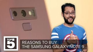 Samsung Galaxy Note 9: Why you should buy it - CNETTV