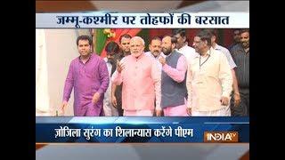 PM Narendra Modi to inaugurate alternate route to Vaishno Devi Shrine today - INDIATV