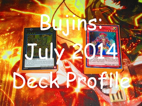 Yugioh July 2014 Bujin Deck Profile!