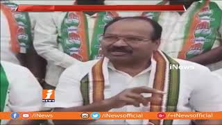 AICC Secretary BK Bose Raju Inspects Public Meeting Arrangements In Medchal | iNews - INEWS