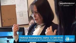 Edukacja Kosmetyczna - Seminarium dla Pracownik�w Urz�d�w Pracy