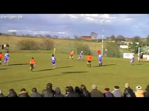 Amazing Windy Soccer Goal