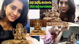 ISmart Girl Nabha Handmade Vinayakudu | Nabha Natesh - IGTELUGU