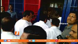 TRS MPs and Leaders Meet Prisoners in Cherlapally Jail   Hyderabad   iNews - INEWS