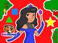 """Princess Shapes Christmas"" | Busy Beavers Christmas, Babies, Toddlers, Preschool Lessons"