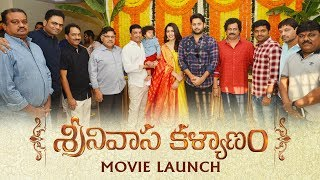 Srinivasa Kalyanam Movie Launch - Nithiin, Raashi Khanna | Dil Raju - DILRAJU